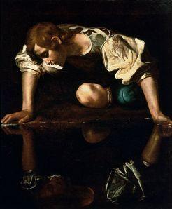 'Narcissus' by Caravaggio