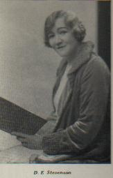 D.E. Stevenson in the 1930s (from destevenson.org)