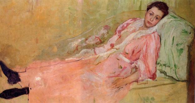 lydia-reading-on-a-divan-1881