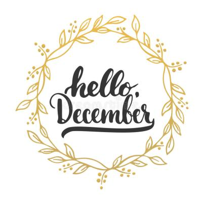 hand-drawn-typography-lettering-phrase-hello-december-isolated-white-background-golden-wreath-fun-brush-ink-79839642